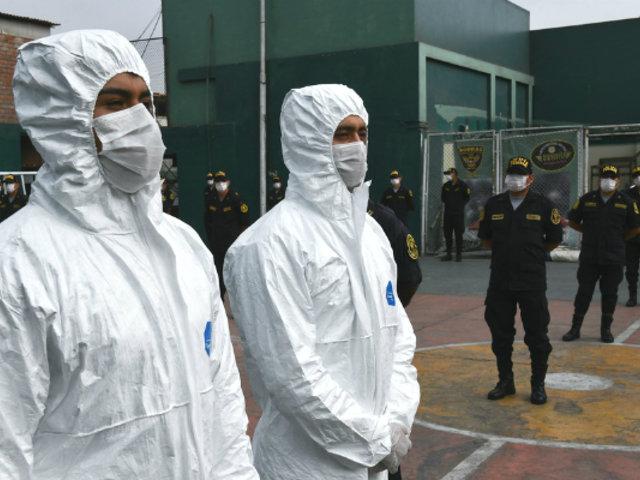 Estado de emergencia: nuevo hospital de la Policía atenderá a efectivos infectados