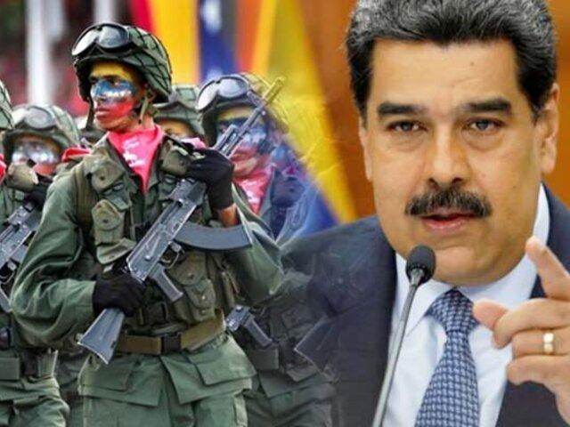 Maduro despliega militares en medio de la creciente tensión con Estados Unidos