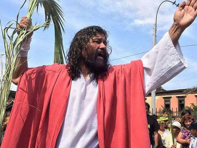 """Cristo Cholo"" celebra Domingo de Ramos en casa por  Covid-19"