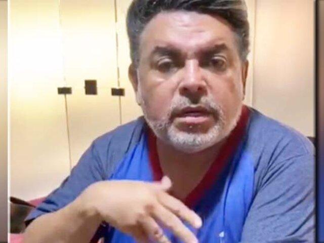"""Andrés Hurtado se disculpa por decir que """"receta casera para la garganta curaba el COVID-19"""""""