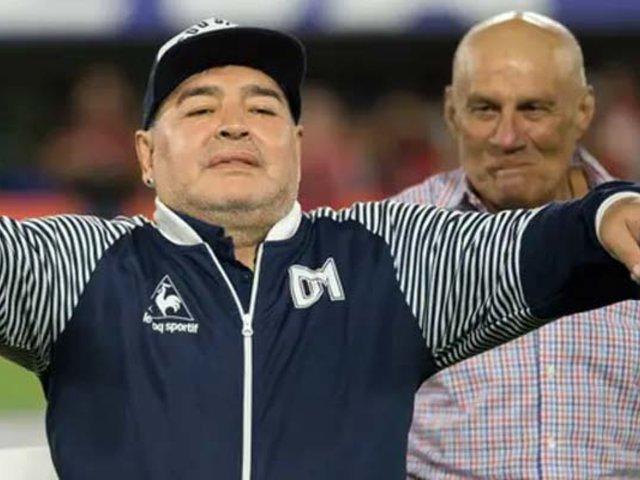 Maradona ofreció renegociar su contrato con Gimnasia por crisis ante el coronavirus