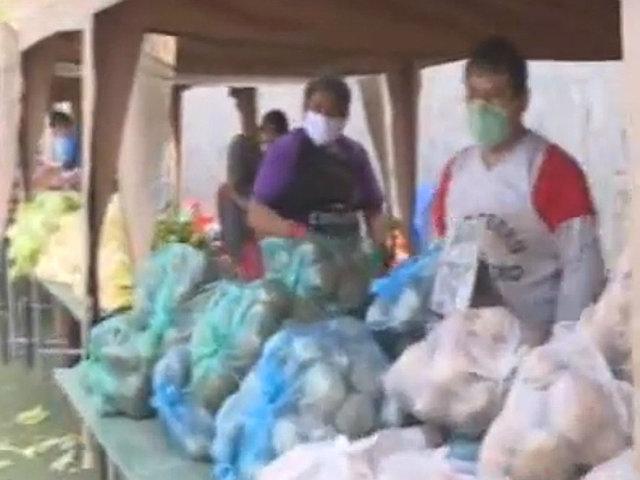 """Mercado itinerante del Minagri """"De la chacra a la olla"""" ofrecen productos baratos de buena calidad"""