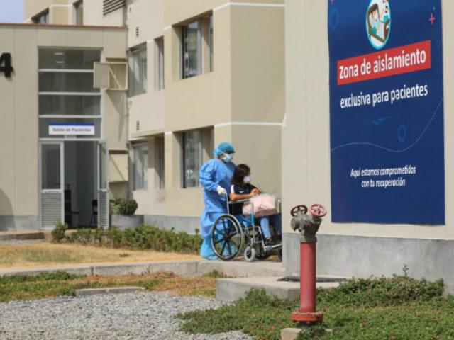 Coronavirus: más de 100 pacientes son atendidos en la Villa Panamericana
