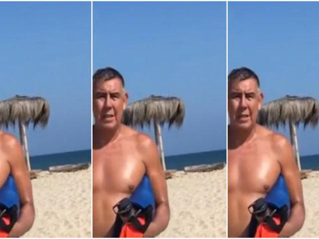 Tumbes: oficial en retiro de la Marina veraneaba en pleno estado de emergencia