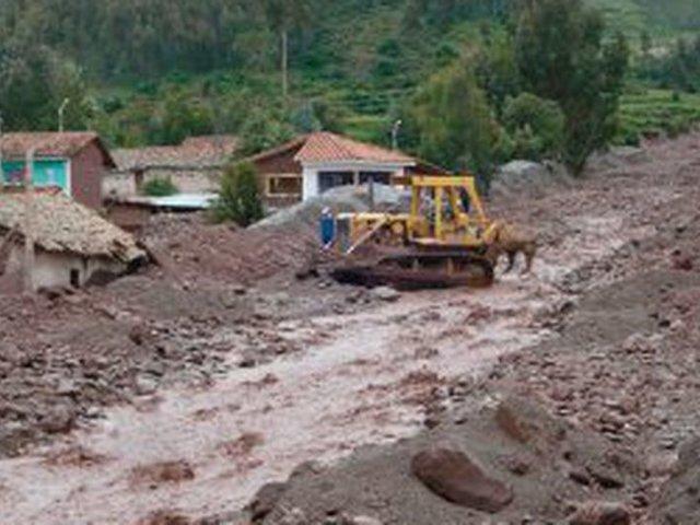 Hallan restos humanos de conductor que fue arrastrado por un huaico en Ayacucho