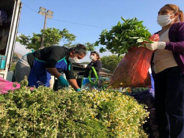 Mercado Mayorista Móvil ya visitó ocho distritos de la capital