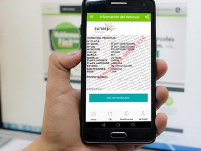 Estado de emergencia: Sunarp emitirá certificados registrales de forma virtual
