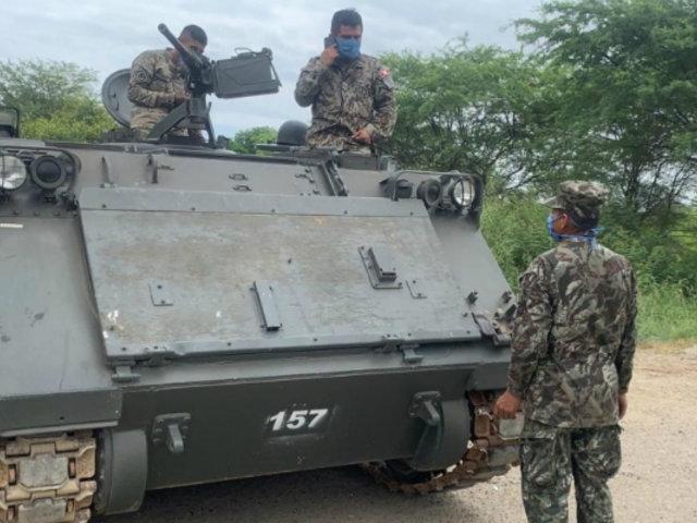 Estado de emergencia: ministro Martos dispuso redoblar control de las fronteras