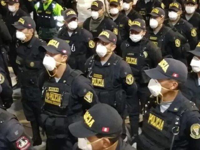 La Victoria: alrededor de 500 policías pasaron la prueba rápida del COVID-19