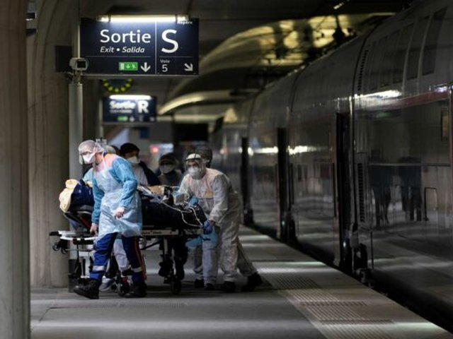 Coronavirus en Francia: cifra de infectados llega a casi 100 mil