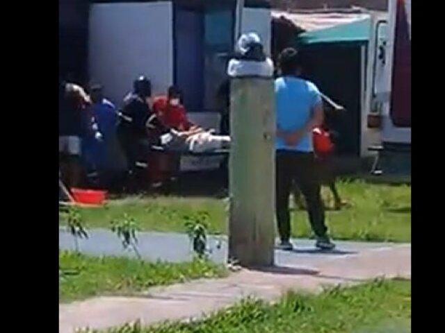 Ica: hombre queda gravemente herido, tras realizarse corte en el estómago durante cuarentena