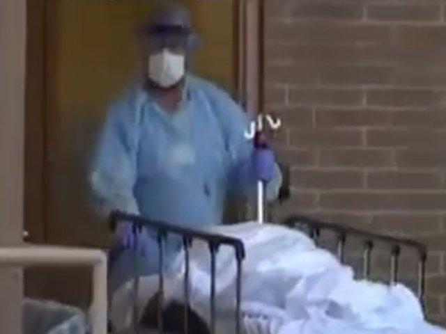 Morgues y funerarias colapsan en Nueva York