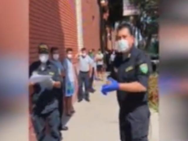 La Victoria: policía dio positivo por COVID-19