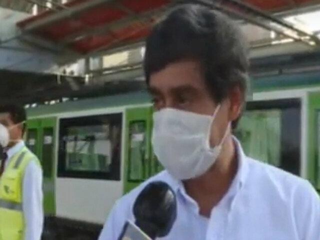 """Marcha blanca"": tras 10 días se hará campaña de difusión para uso de protectores faciales"