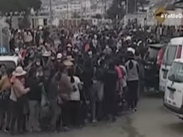 Covid-19: Cientos de mujeres se aglomeraron en mercados