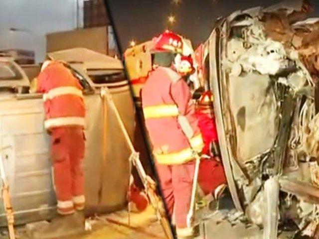 Independencia: accidente de tránsito deja a 10 personas heridas