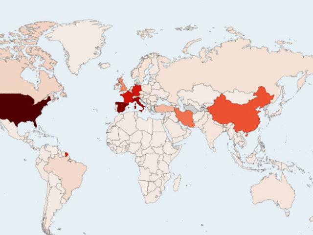 Coronavirus HOY 8 de abril: 82,145 muertos y más de 1 millón 431 mil contagiados en el mundo