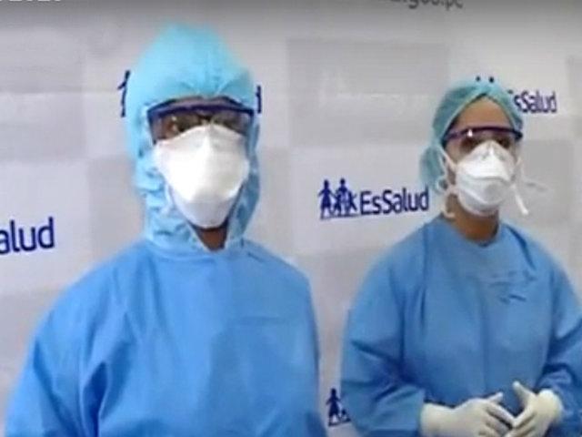 """Llegan implementos para proteger a personal médico de la red """"Sabogal"""""""