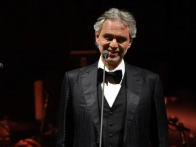 Bocelli dará concierto para el mundo vía YouTube en domingo de Pascua