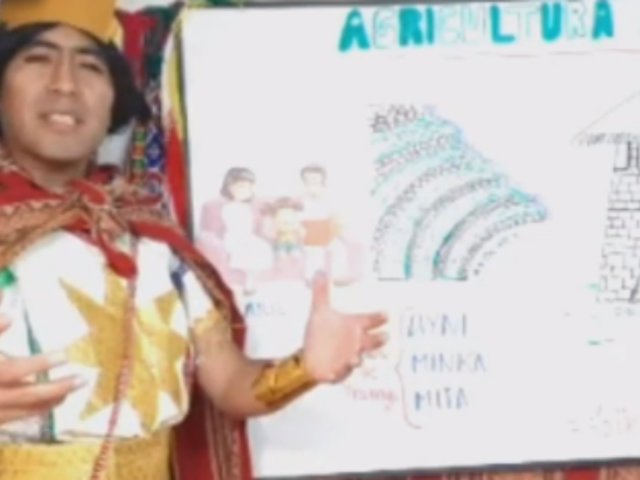 ¡Un gran ejemplo! Desde Cusco, profesor nos explica sobre la agricultura incaica
