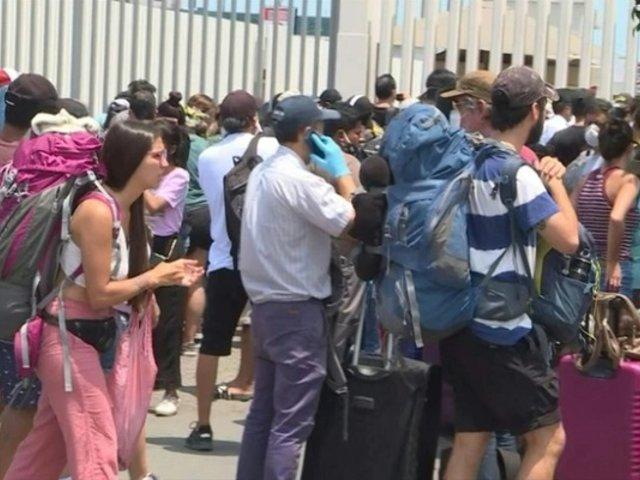 Más de 100 peruanos fueron repatriados desde Europa