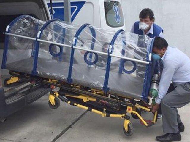 Apurímac: médicos elaboran sus propias cápsulas para trasladar a pacientes con COVID-19