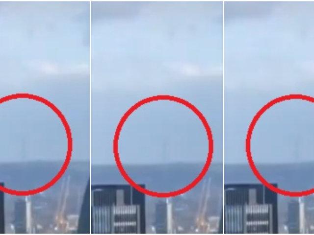 Usuaria de Tik Tok registró en video a la torre Eiffel desde Londres