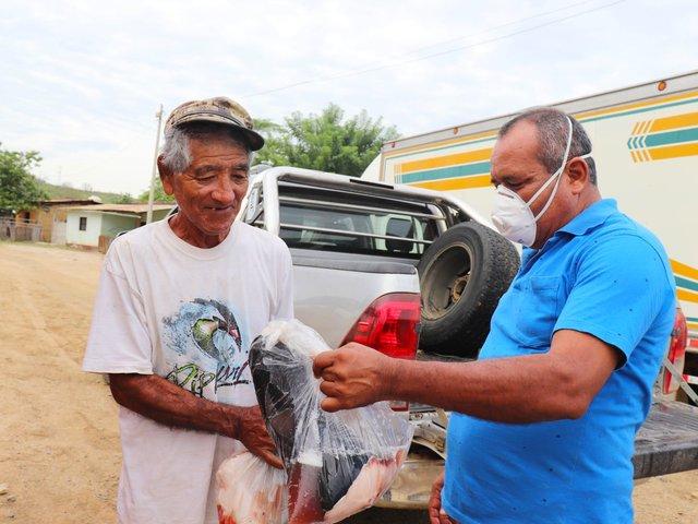 Tumbes: donan 10 toneladas de pescados para ciudadanos de la región