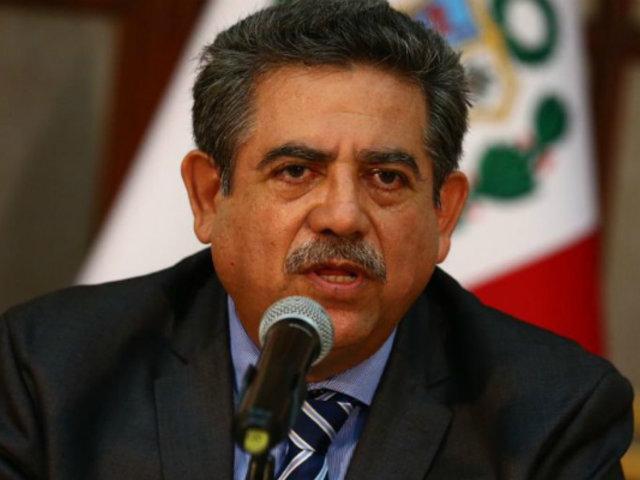 Congreso: Manuel Merino invoca al JNE a modificar cronograma electoral
