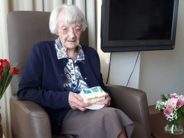 Holanda: mujer de 107 años es la nueva adulta mayor que vence el coronavirus