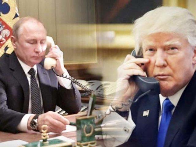 Putin y Trump mantienen una conversación telefónica acerca de la pandemia del coronavirus