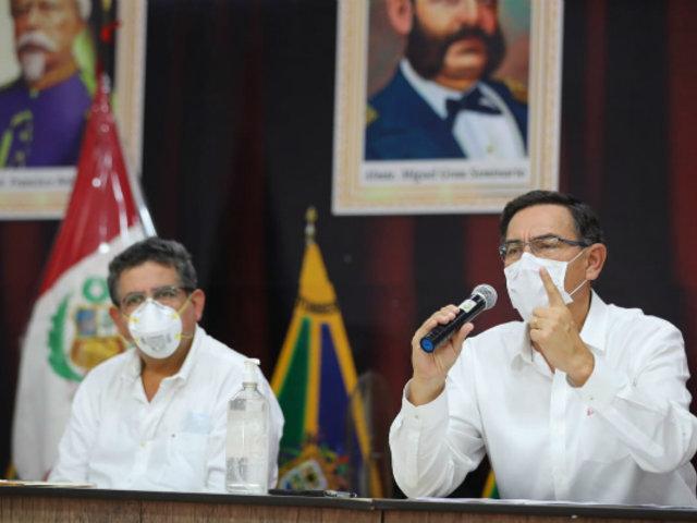 Presidente Vizcarra confirma 5,897 casos positivos de coronavirus en el Perú