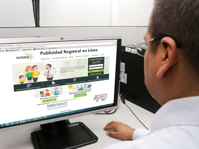 Sunarp: Reserva de Nombre ya se puede realizar vía Internet
