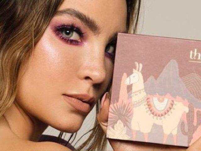 Belinda es criticada en redes sociales tras sacar su línea de cosméticos inspirada en Perú