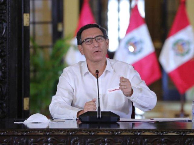 Gobierno aplaza de manera indefinida clases presenciales por el Covid-19