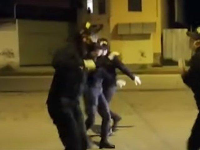 Cajamarca: agentes PNP realizaron coreografía de carnaval para levantar ánimos de la población