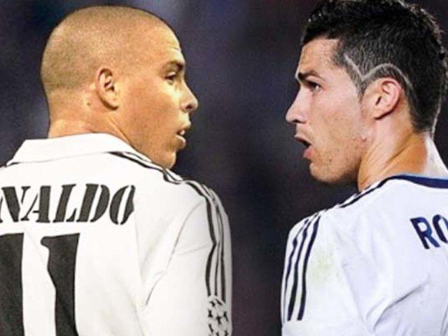 Ronaldo Nazário habló sobre Cristiano