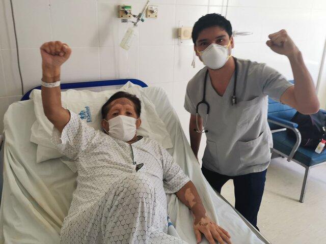 """Eusebio """"Chato"""" Grados: cantante fue dado de alta tras un cuadro de peritonitis"""