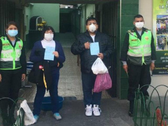 Estado de emergencia: multan a pareja por salir a celebrar su aniversario en Arequipa