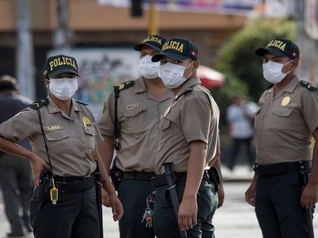 Ministro Morán confirma que 1300 policías dieron positivo a prueba de COVID-19