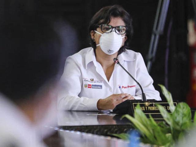 Ministra Cáceres: Es delito remitir datos falsos para acogerse a suspensión perfecta