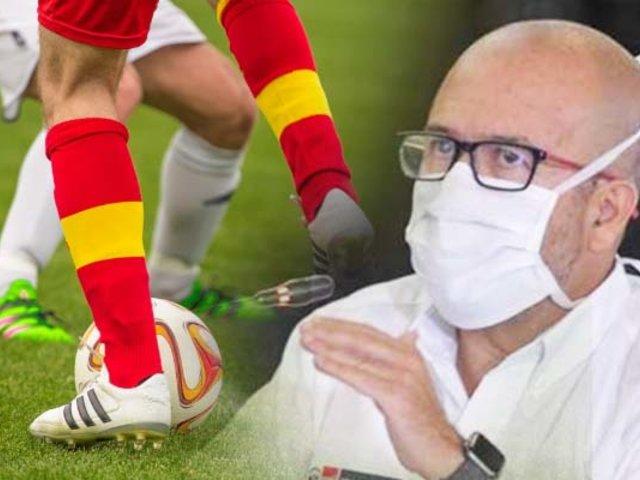 Minsa evalúa protocolos de FPF para retorno del fútbol peruano