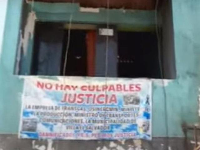 Tragedia en VES: viviendas abandonadas a más de tres meses de deflagración