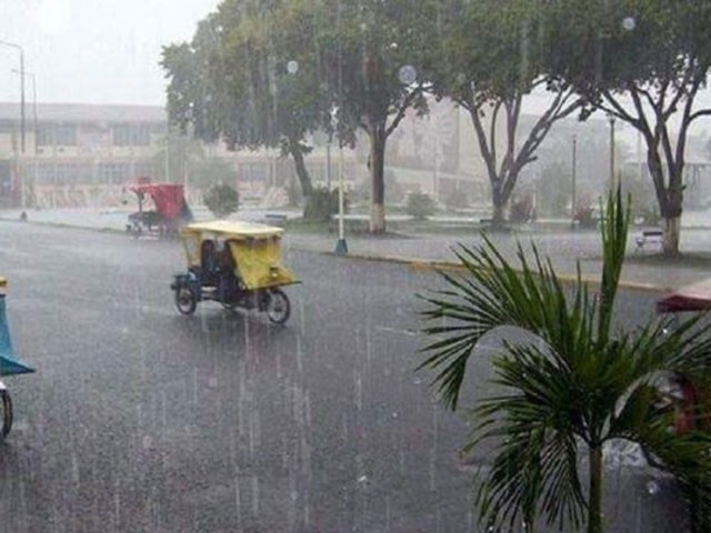 Selva central, norte y sur registrarán lluvias desde el anochecer de este miércoles