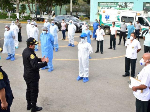 Coronavirus: Más de 500 cadetes y alumnos de Escuelas PNP fueron dados de alta