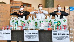 Inkafarma dona mil 200 kits de cuidado e higiene personal para la policía