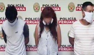 PNP captura banda que acuchilló a un transeúnte en Los Olivos
