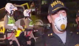 Miraflores: Policías realizan show con acrobacias y canto para concientizar a la población