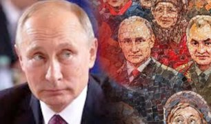 Rusia: quitan un mosaico con la imagen de Putin de una catedral en Moscú