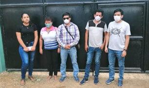 Estado de emergencia: regidores y funcionarios fueron intervenidos en plena reunión social